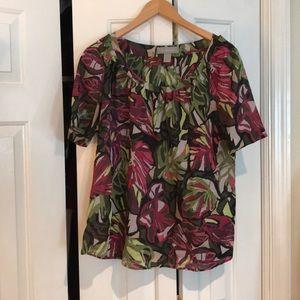 Liz Claiborne shirt sleeve blouse Large